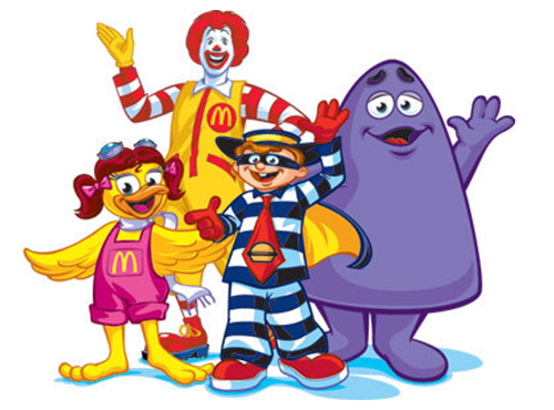 Pokemonalds the Pokemon GO and McDonalds Partnership McDonalds Characters Image via Liz and Laura